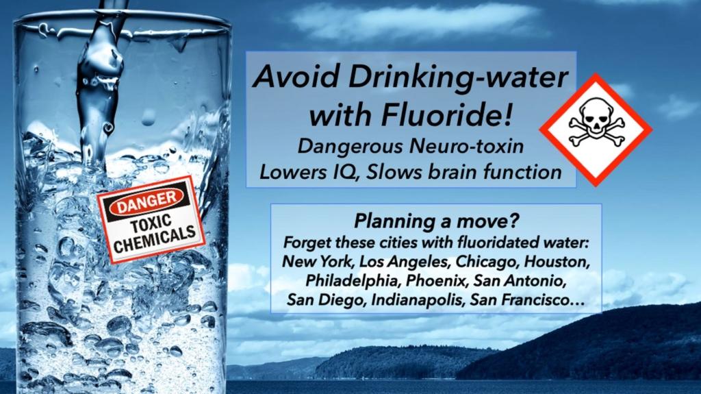 Avoid Drinking-water with Flouride