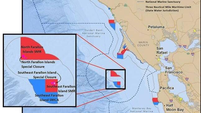 map Farallon Islands